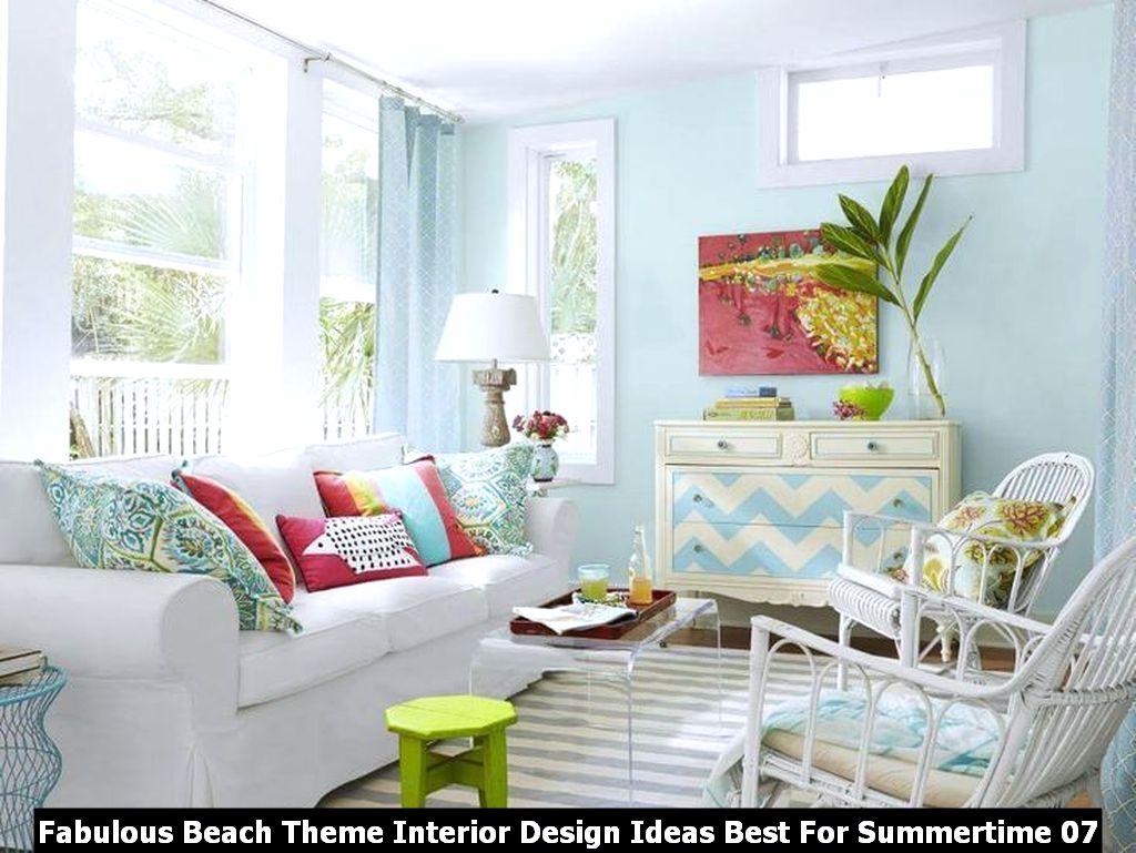 Fabulous Beach Theme Interior Design Ideas Best For Summertime 07