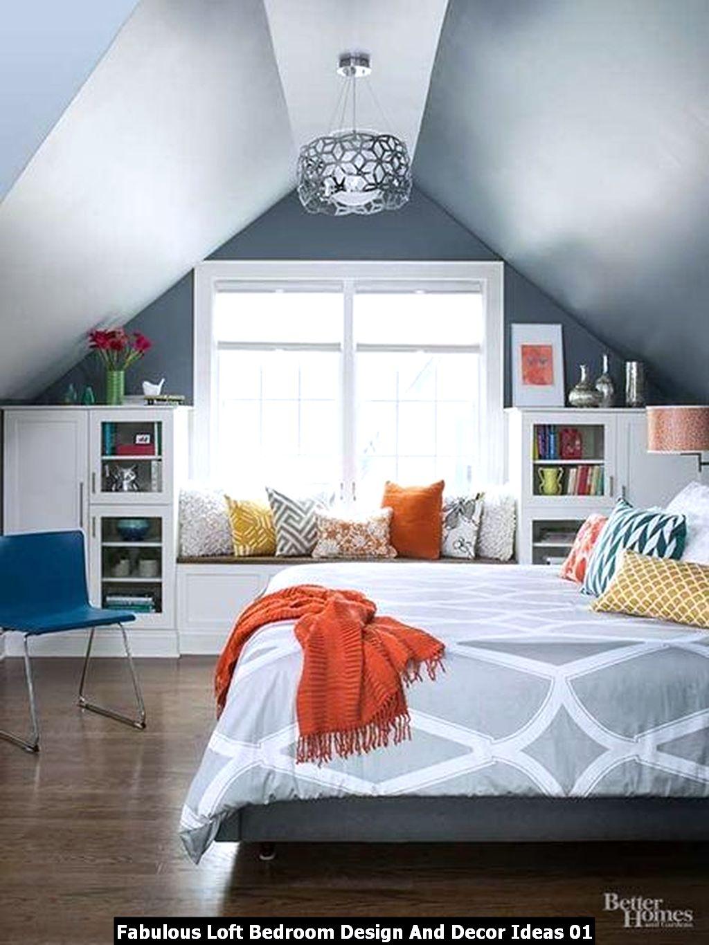 Fabulous Loft Bedroom Design And Decor Ideas 01