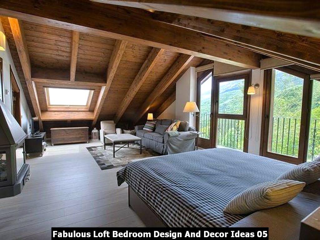 Fabulous Loft Bedroom Design And Decor Ideas 05