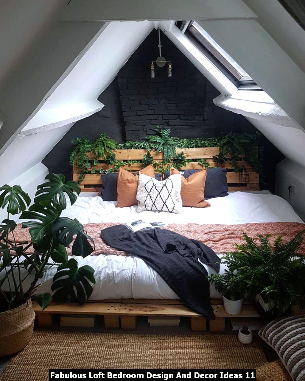 Fabulous Loft Bedroom Design And Decor Ideas 11
