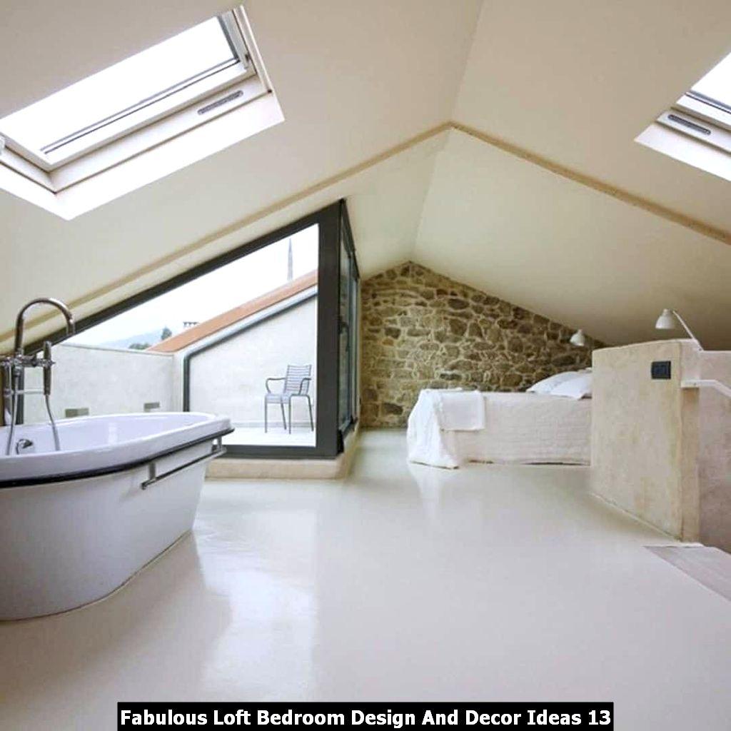 Fabulous Loft Bedroom Design And Decor Ideas 13