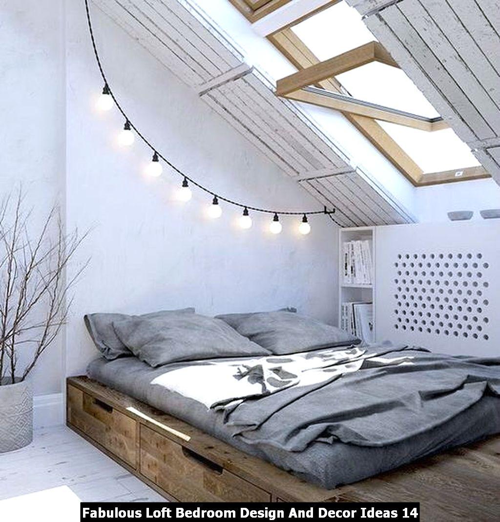 Fabulous Loft Bedroom Design And Decor Ideas 14