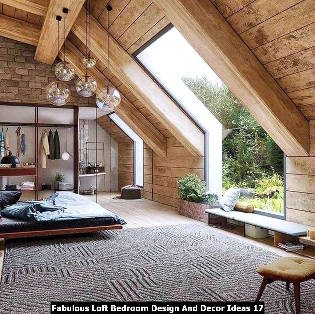 Fabulous Loft Bedroom Design And Decor Ideas 17