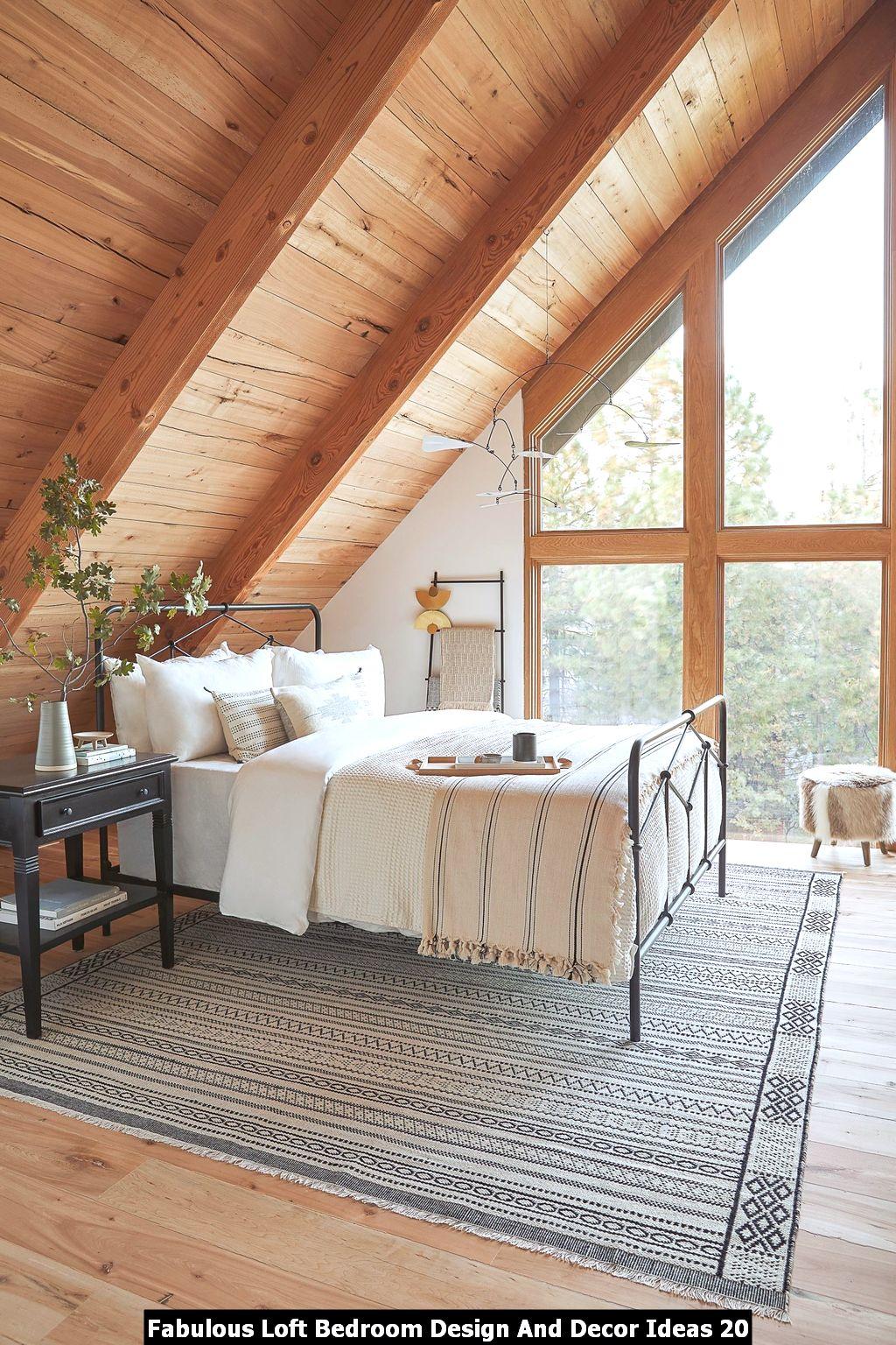 Fabulous Loft Bedroom Design And Decor Ideas 20