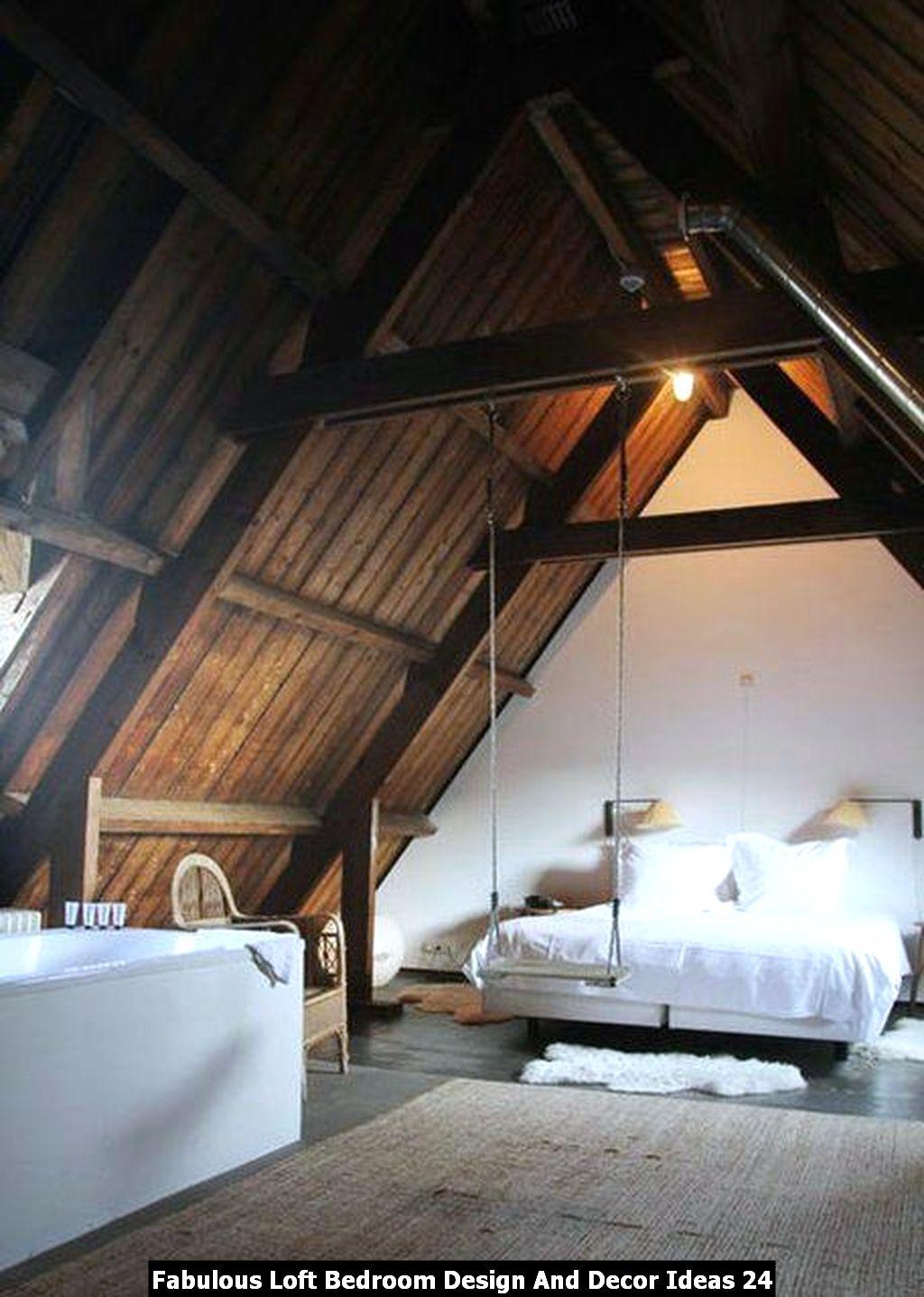 Fabulous Loft Bedroom Design And Decor Ideas 24