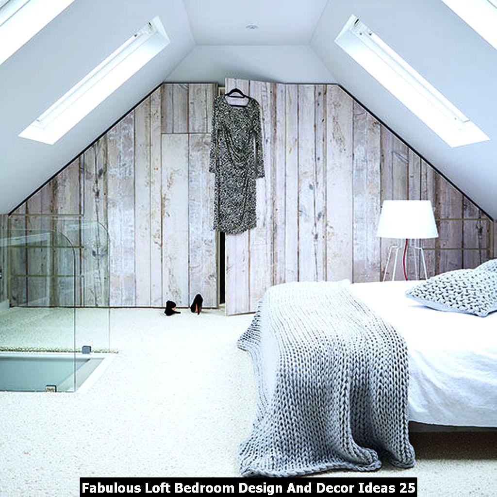 Fabulous Loft Bedroom Design And Decor Ideas 25