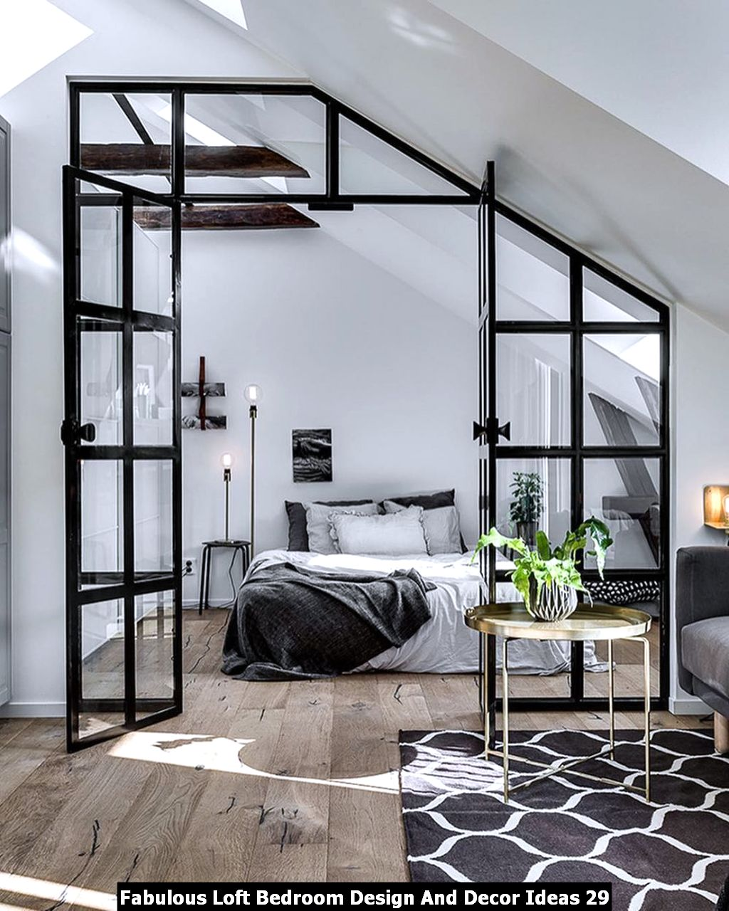 Fabulous Loft Bedroom Design And Decor Ideas 29
