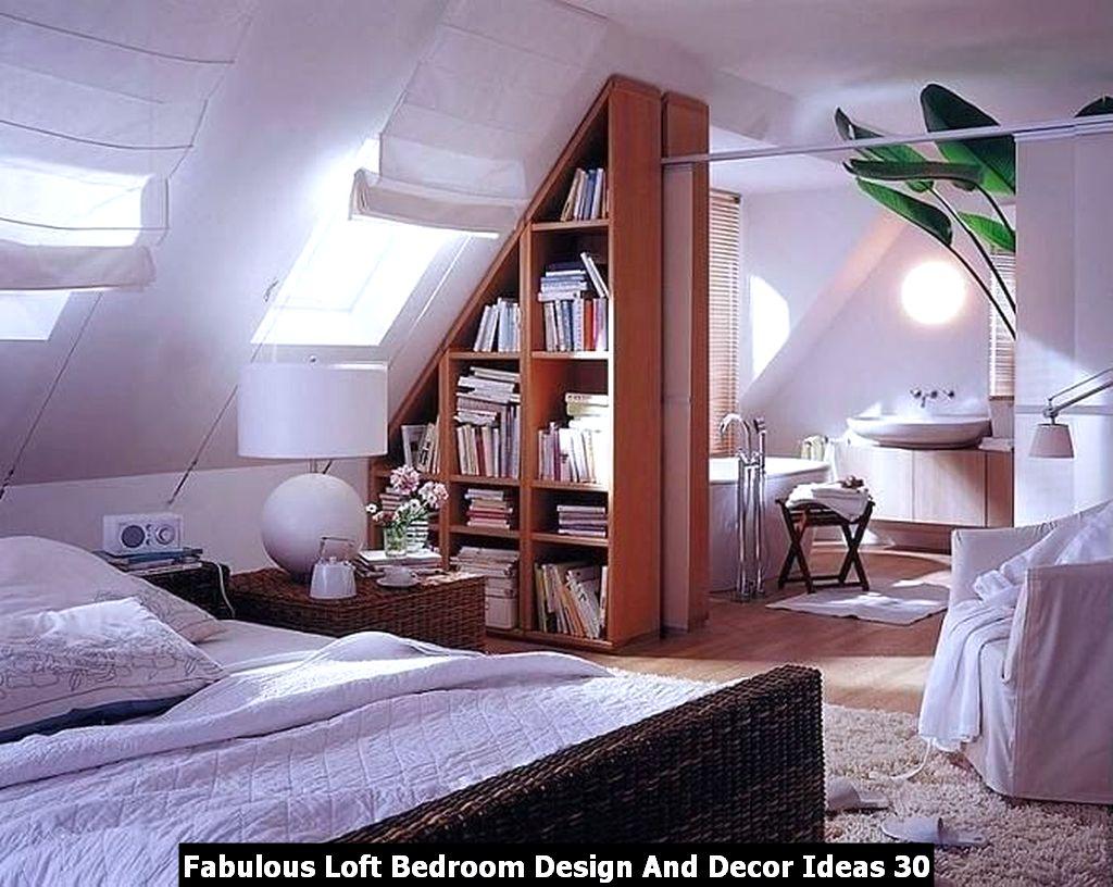 Fabulous Loft Bedroom Design And Decor Ideas 30