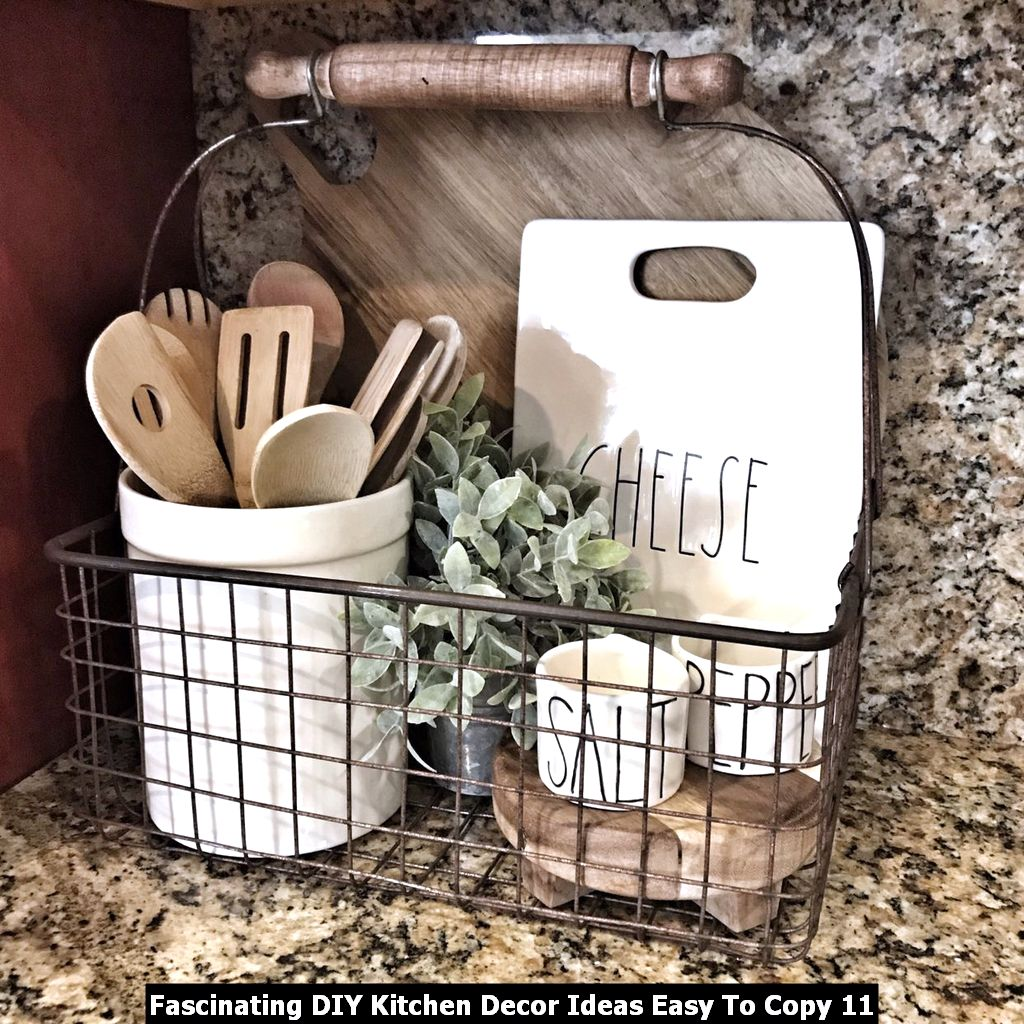 Fascinating DIY Kitchen Decor Ideas Easy To Copy 11