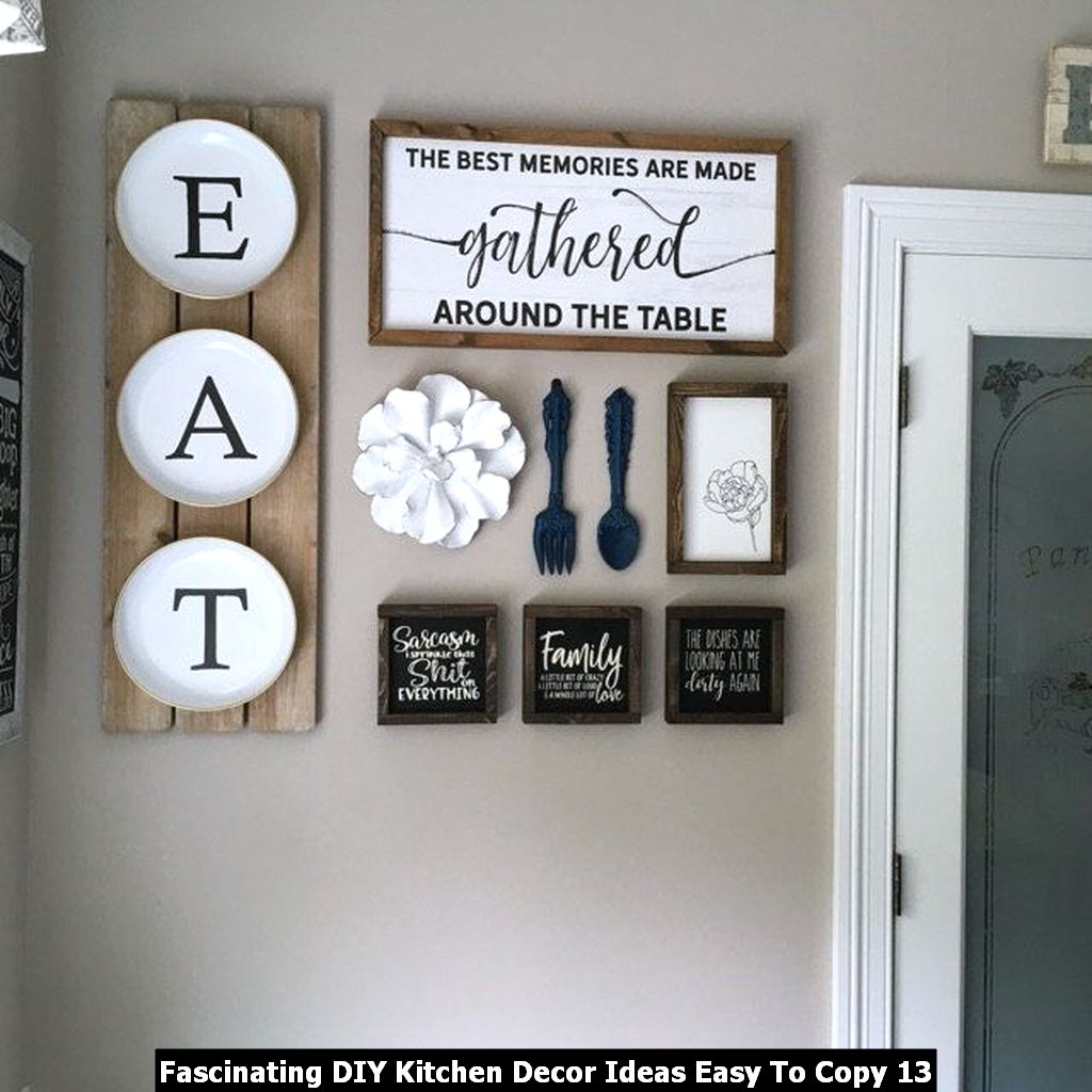 Fascinating DIY Kitchen Decor Ideas Easy To Copy 13