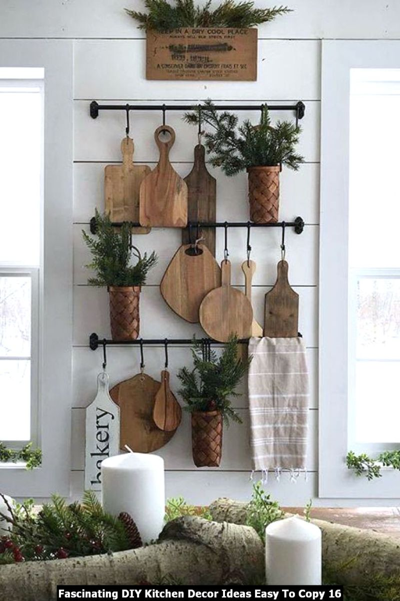 Fascinating DIY Kitchen Decor Ideas Easy To Copy 16