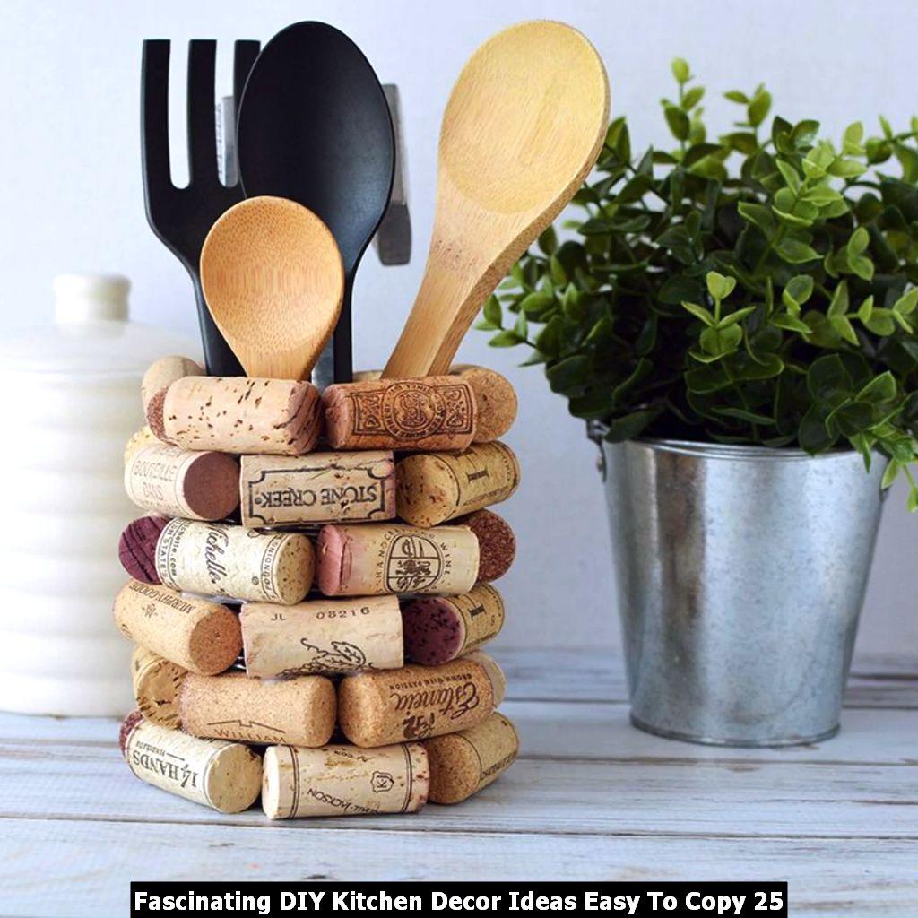 Fascinating DIY Kitchen Decor Ideas Easy To Copy 25