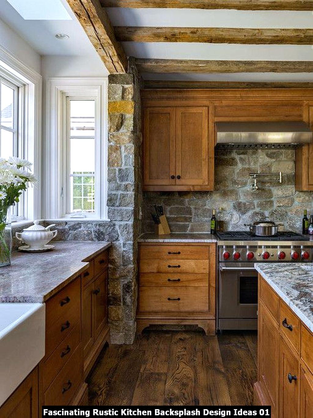 Fascinating Rustic Kitchen Backsplash Design Ideas 01
