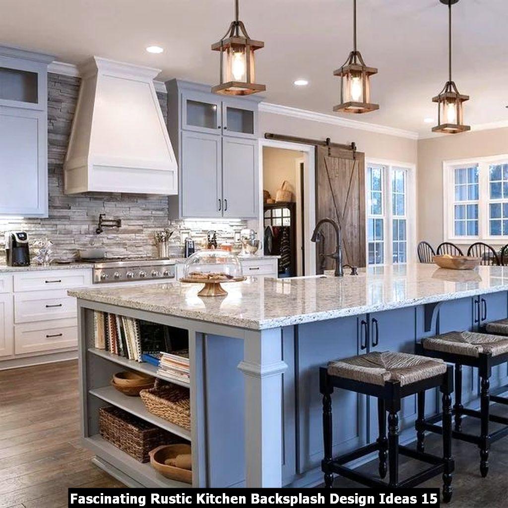 Fascinating Rustic Kitchen Backsplash Design Ideas 15