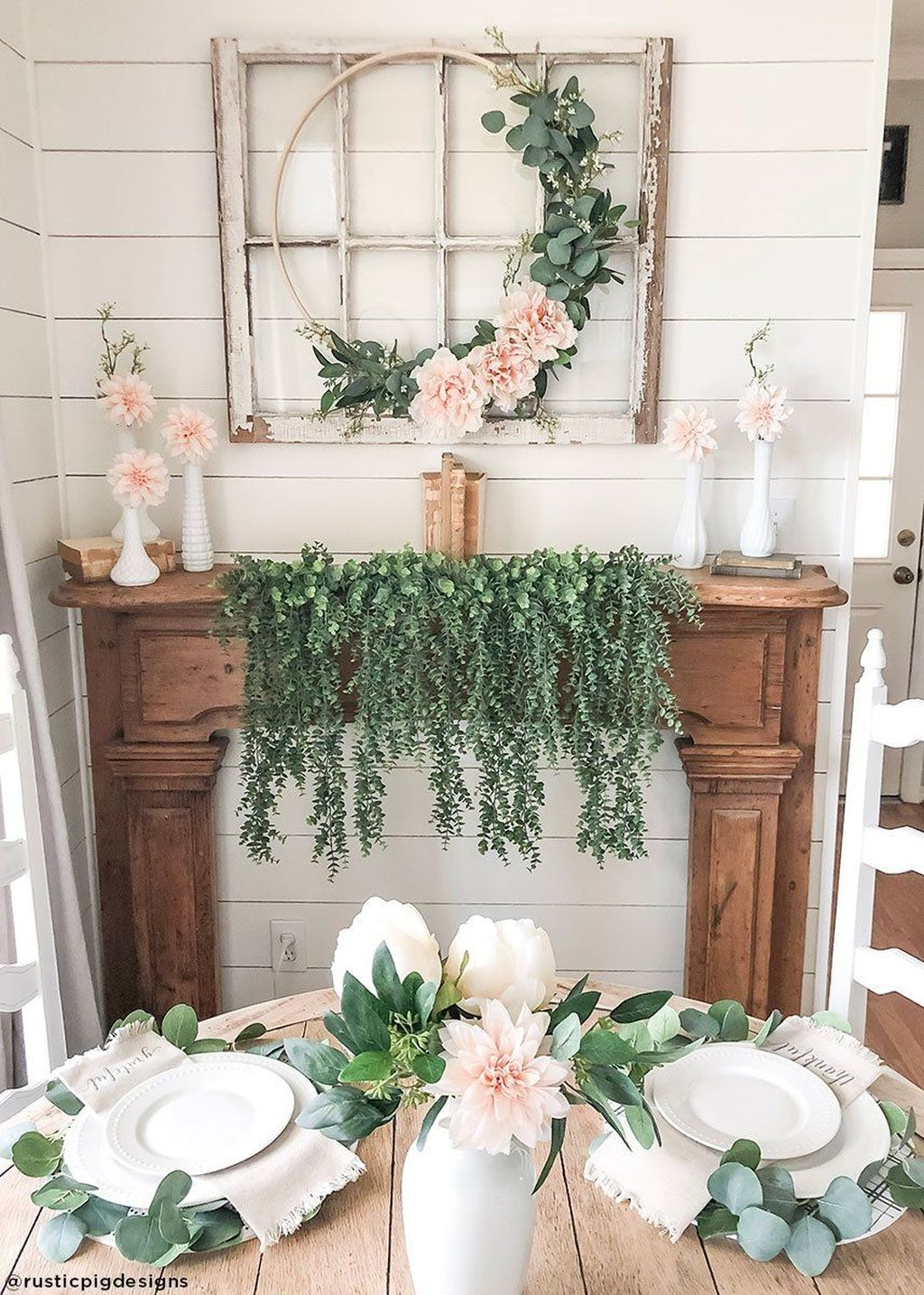 Fascinating Spring Farmhouse Decor Ideas You Should Copy 11