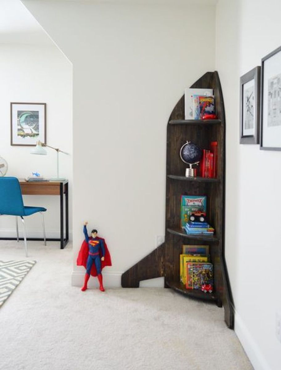 Fascinating Superhero Theme Bedroom Decor Ideas 27