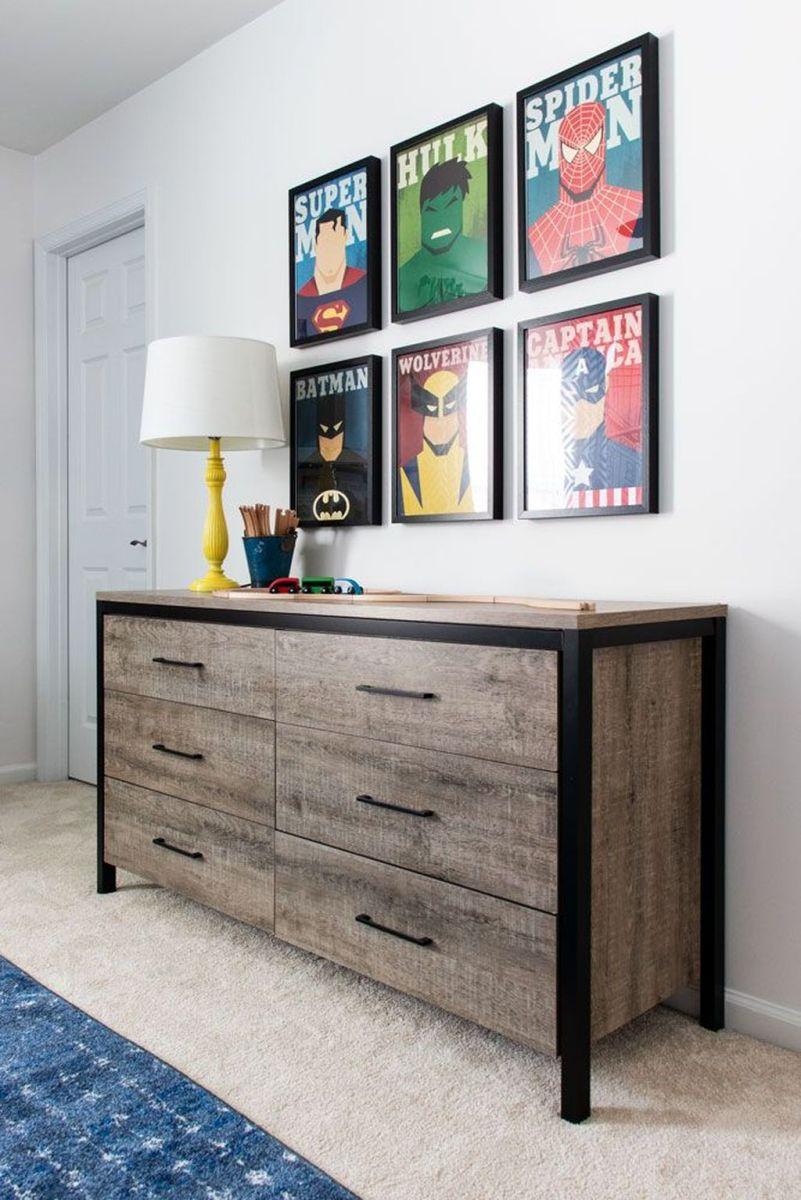 Fascinating Superhero Theme Bedroom Decor Ideas 33