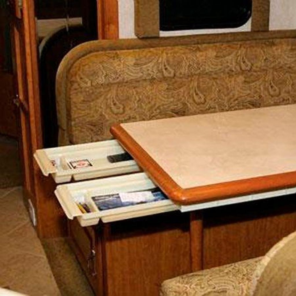Gorgeous RV Camper Storage Ideas For Spring And Summer Holiday 11