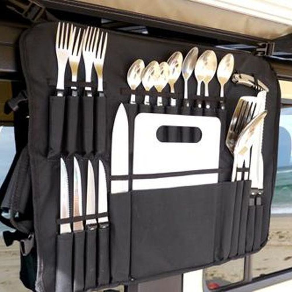 Gorgeous RV Camper Storage Ideas For Spring And Summer Holiday 25