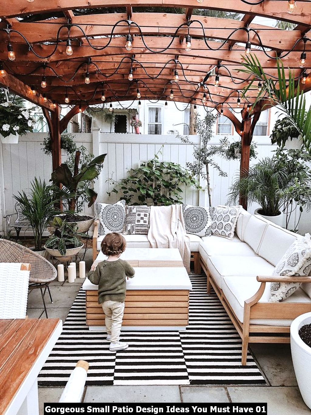 Gorgeous Small Patio Design Ideas You Must Have 01