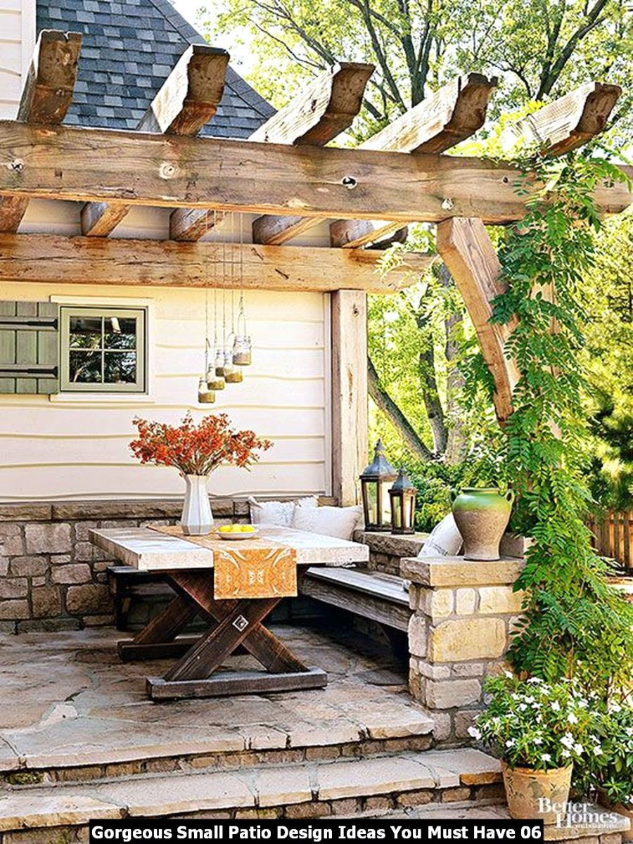Gorgeous Small Patio Design Ideas You Must Have 06