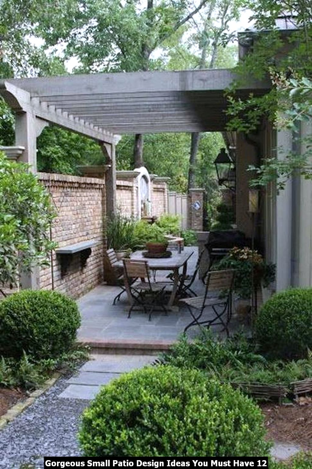 Gorgeous Small Patio Design Ideas You Must Have 12