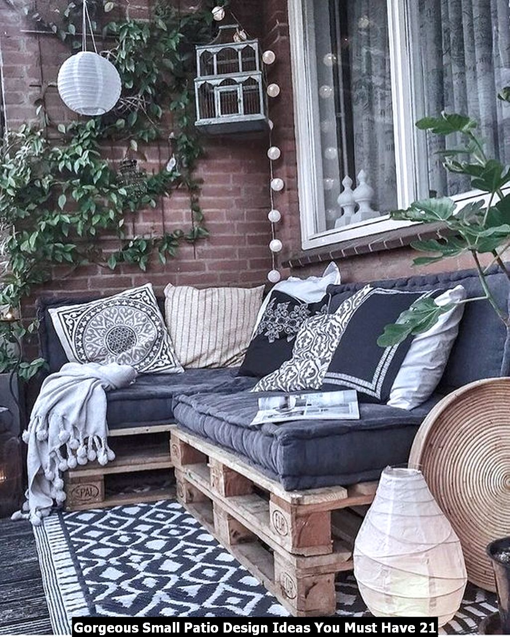 Gorgeous Small Patio Design Ideas You Must Have 21