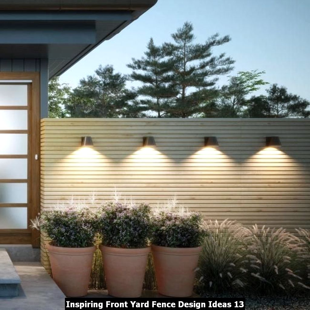 Inspiring Front Yard Fence Design Ideas 13
