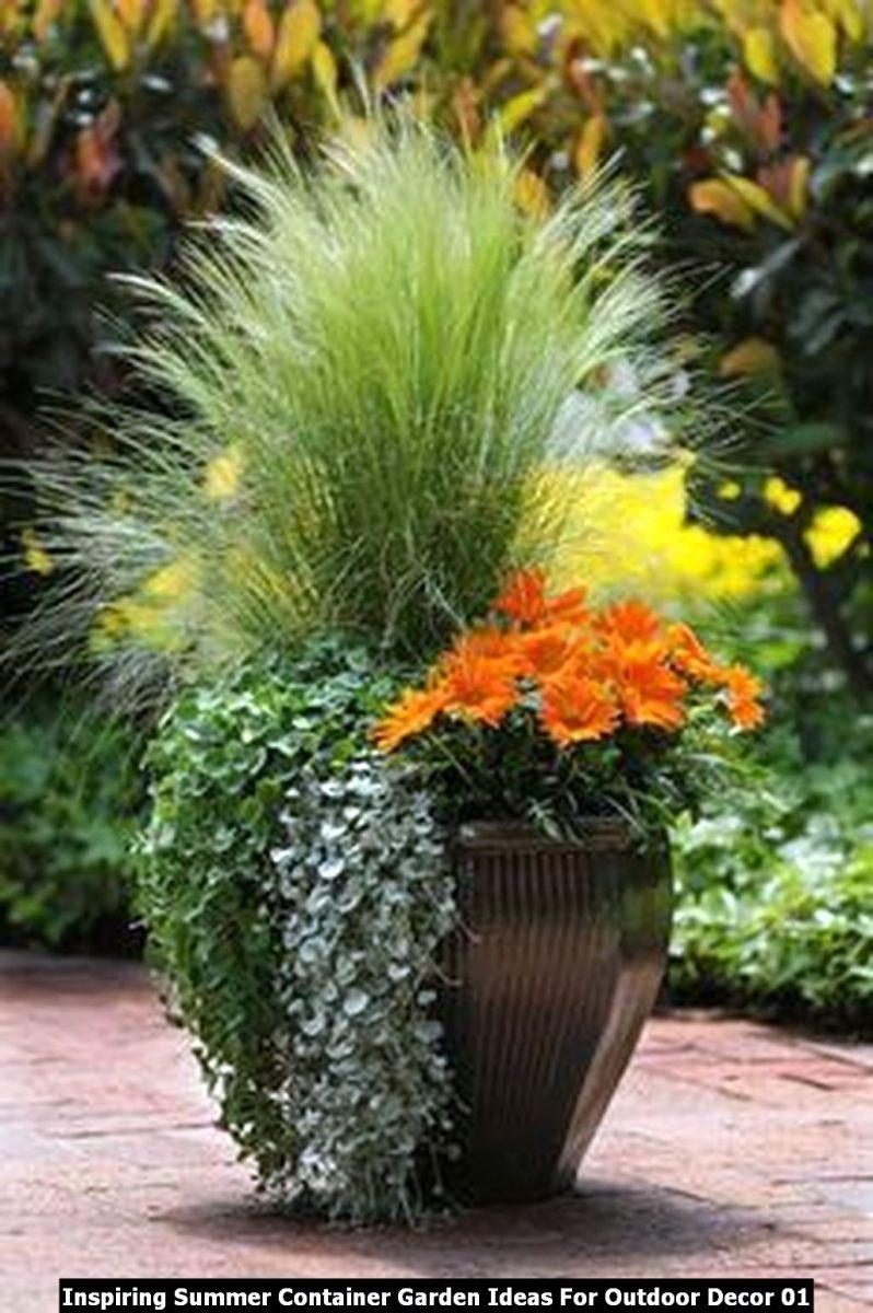 Inspiring Summer Container Garden Ideas For Outdoor Decor 01