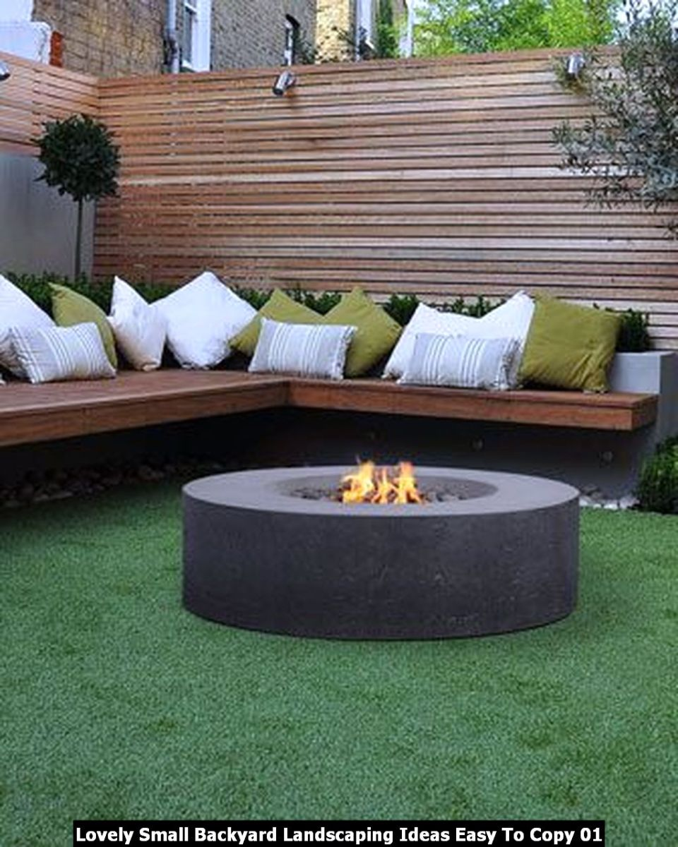 Lovely Small Backyard Landscaping Ideas Easy To Copy 01