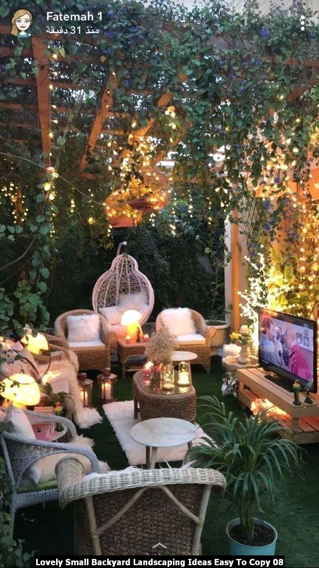 Lovely Small Backyard Landscaping Ideas Easy To Copy 08
