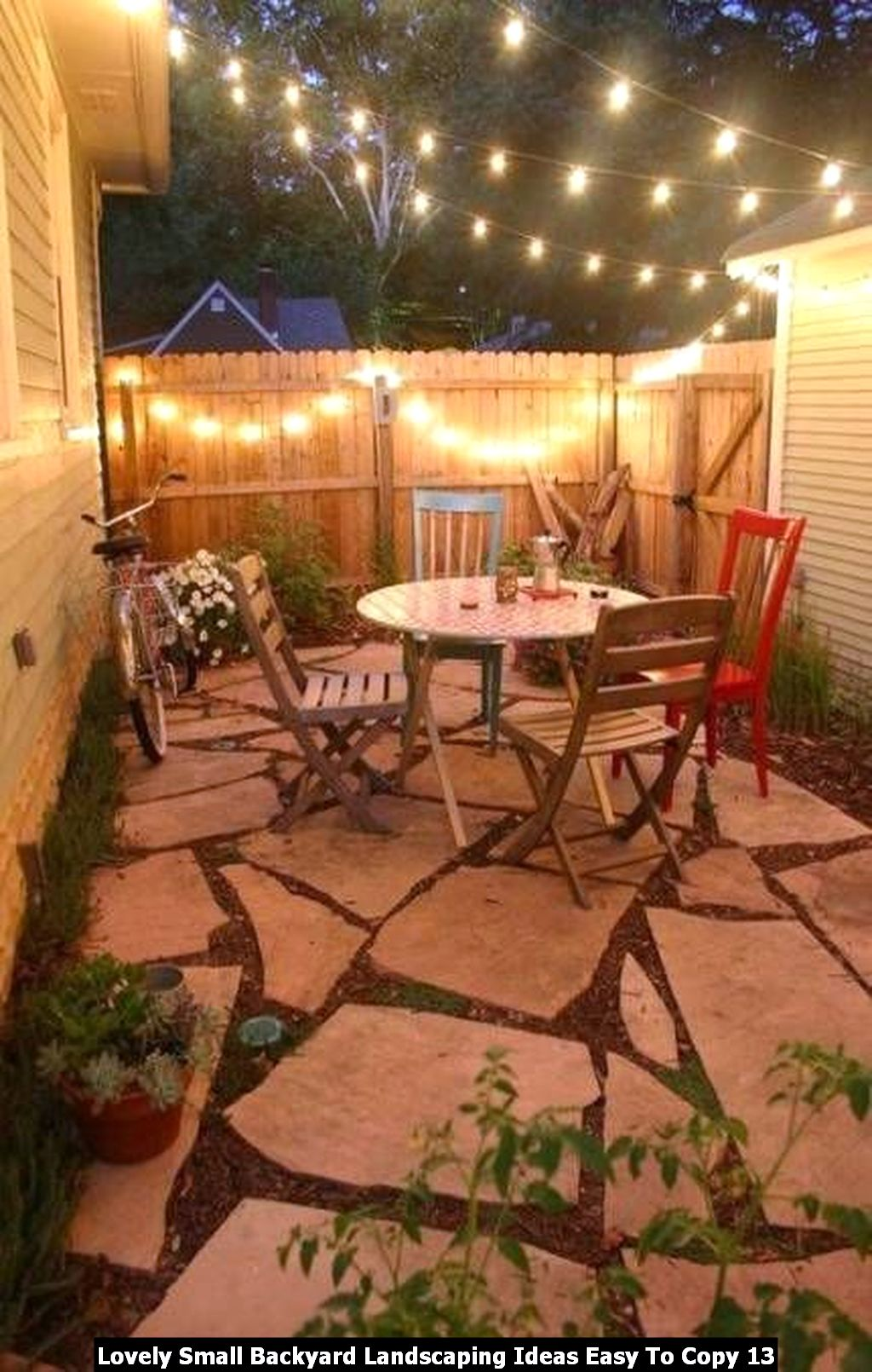 Lovely Small Backyard Landscaping Ideas Easy To Copy 13