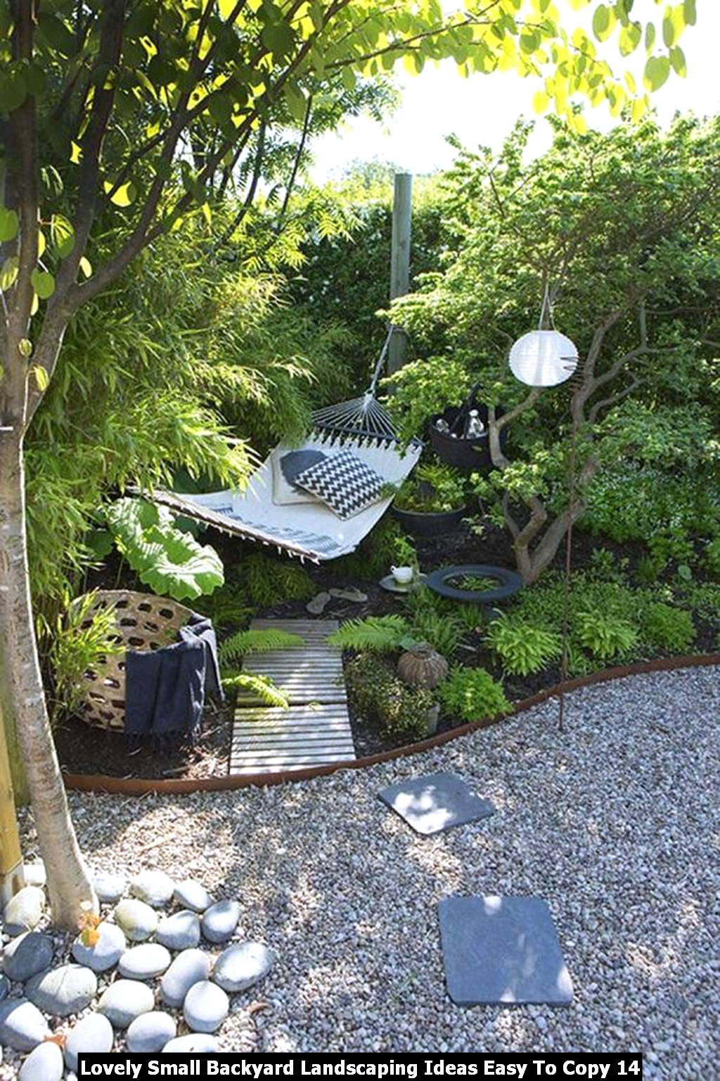 Lovely Small Backyard Landscaping Ideas Easy To Copy 14