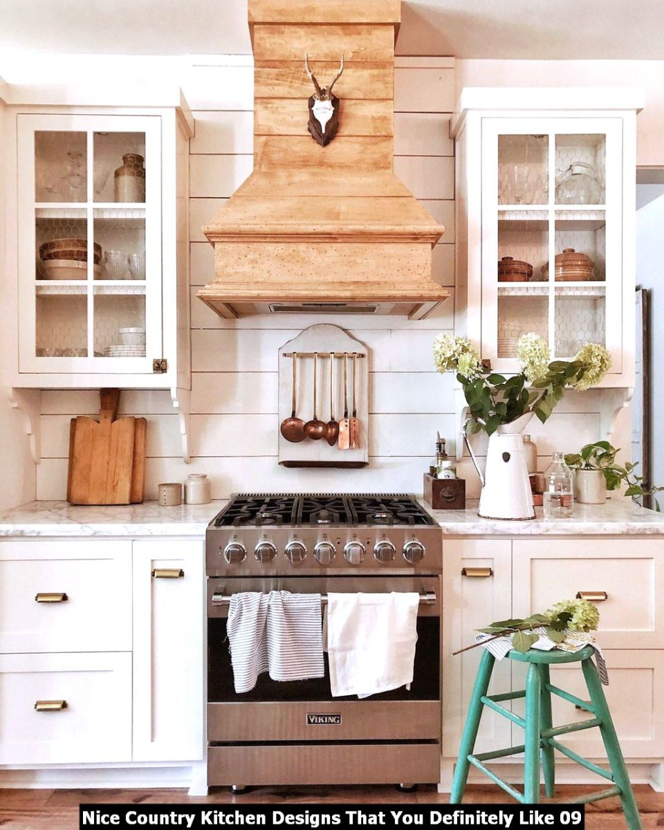 Nice Country Kitchen Designs That You Definitely Like 09