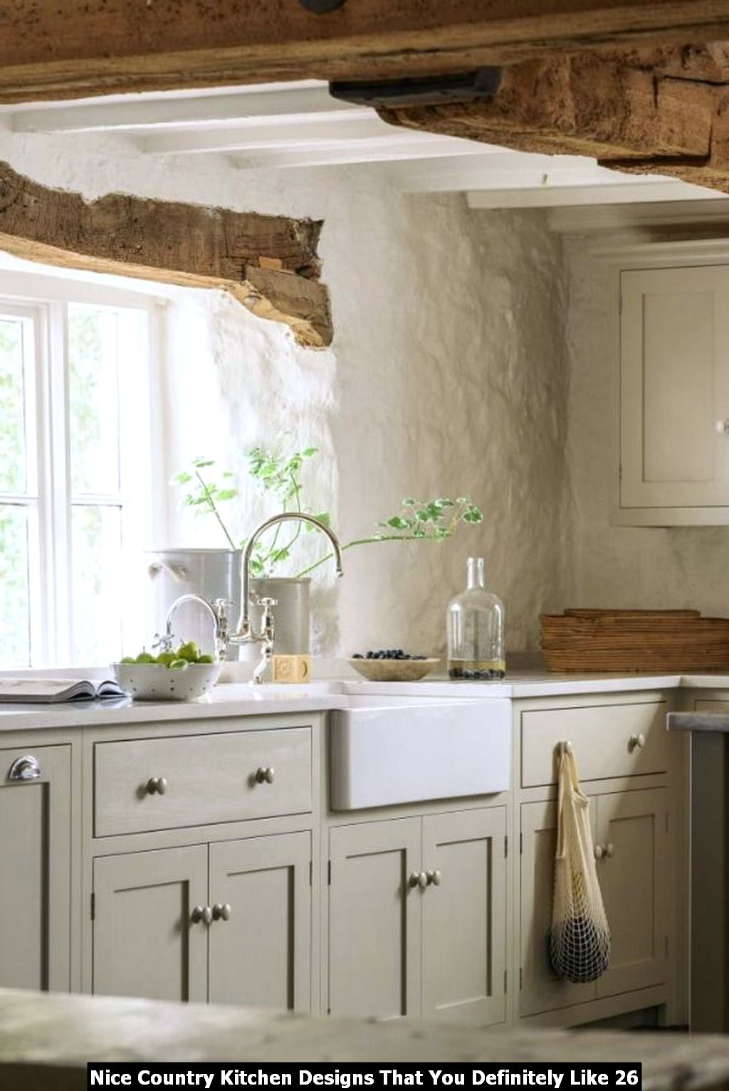 Nice Country Kitchen Designs That You Definitely Like 26