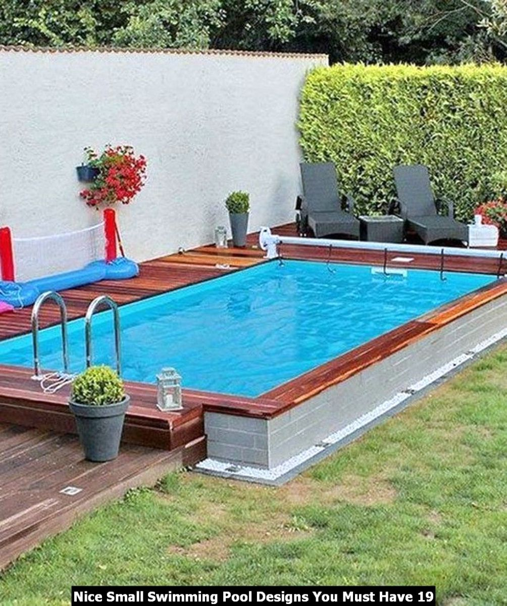 Nice Small Swimming Pool Designs You Must Have 19