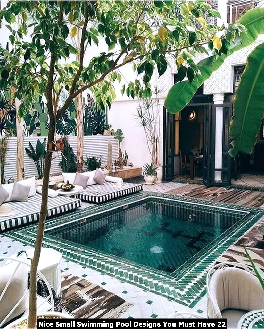 Nice Small Swimming Pool Designs You Must Have 22