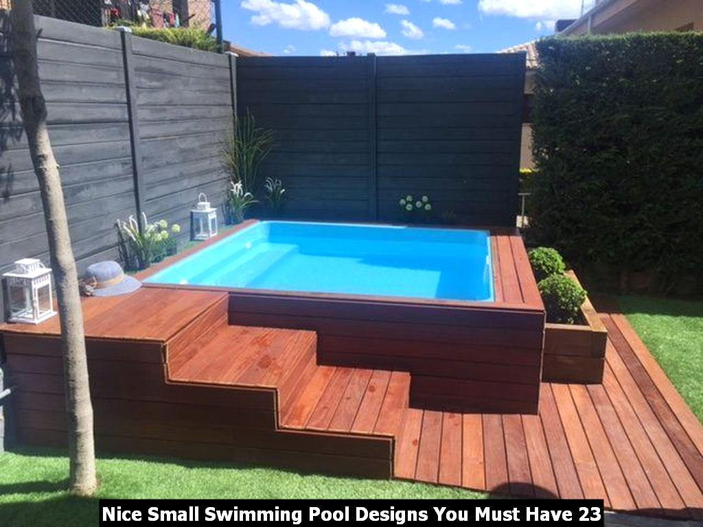 Nice Small Swimming Pool Designs You Must Have 23