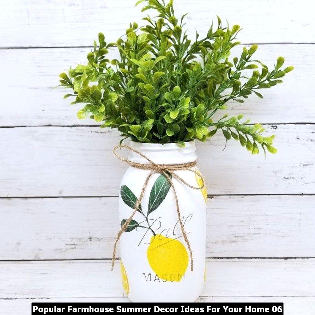 Popular Farmhouse Summer Decor Ideas For Your Home 06
