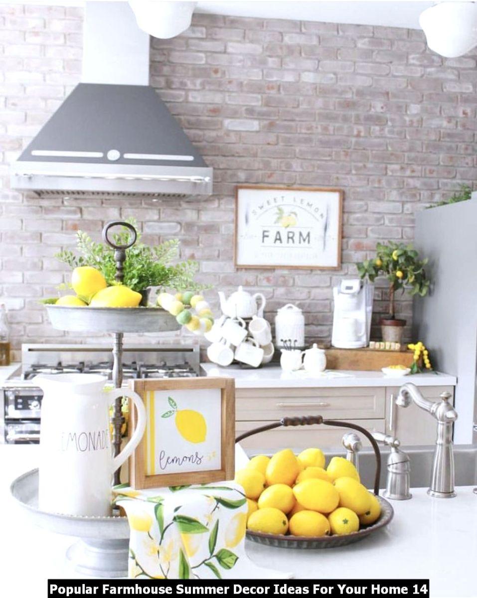 Popular Farmhouse Summer Decor Ideas For Your Home 14