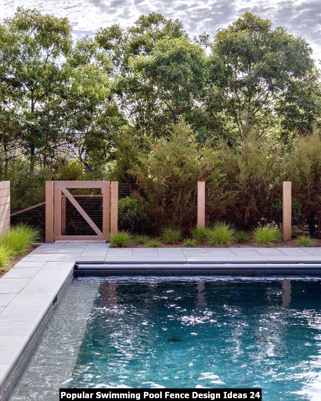 Popular Swimming Pool Fence Design Ideas 24