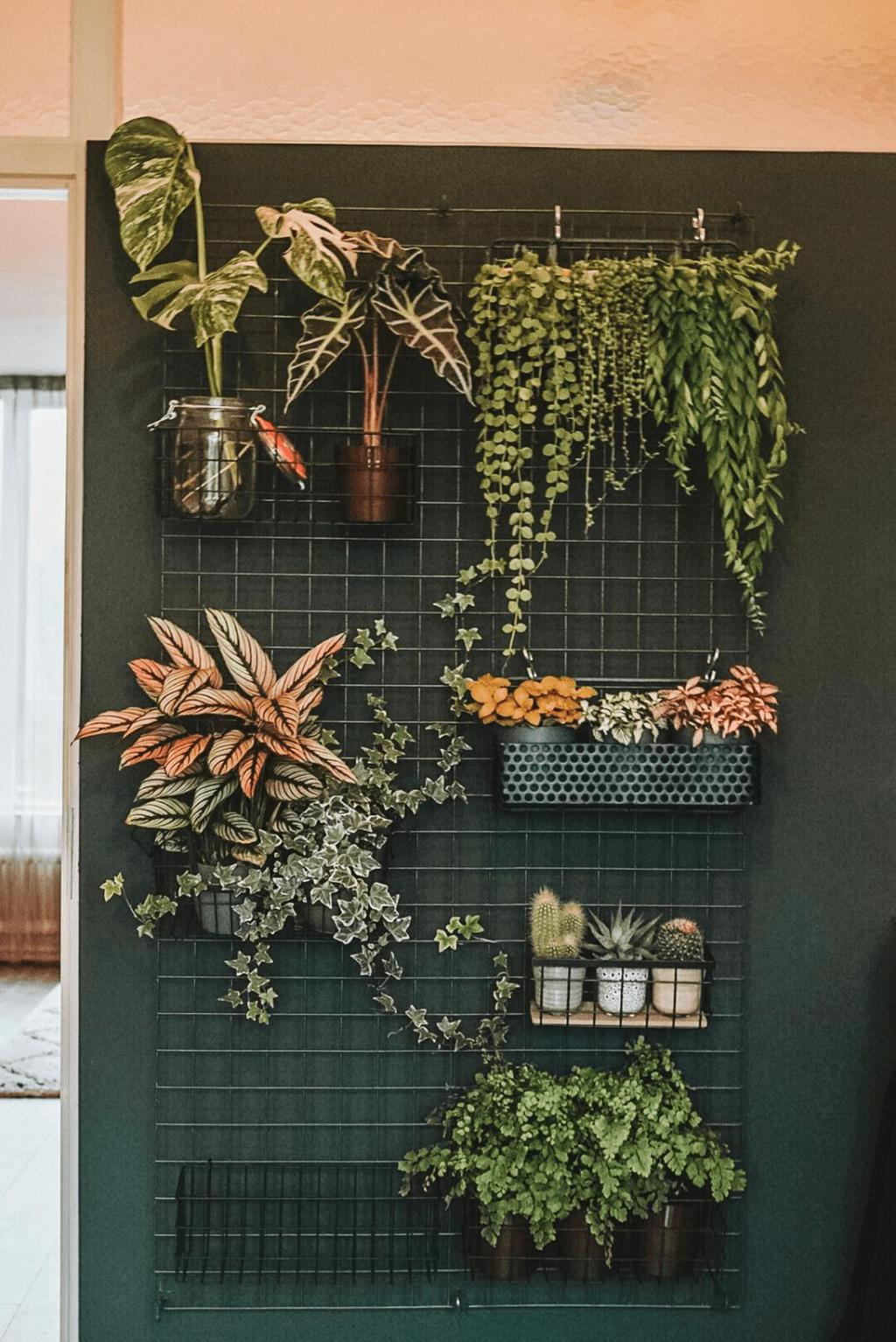 Popular Vertical Garden Wall For Outdoors Decor 04