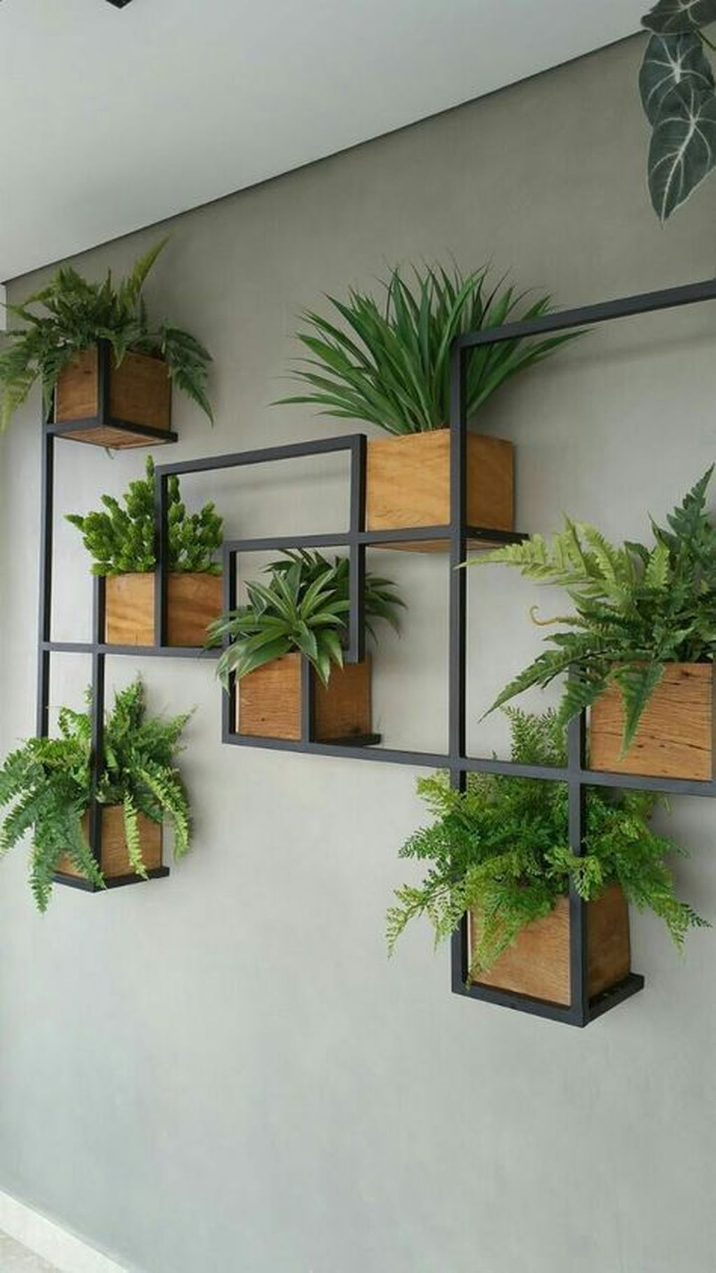 Popular Vertical Garden Wall For Outdoors Decor 11