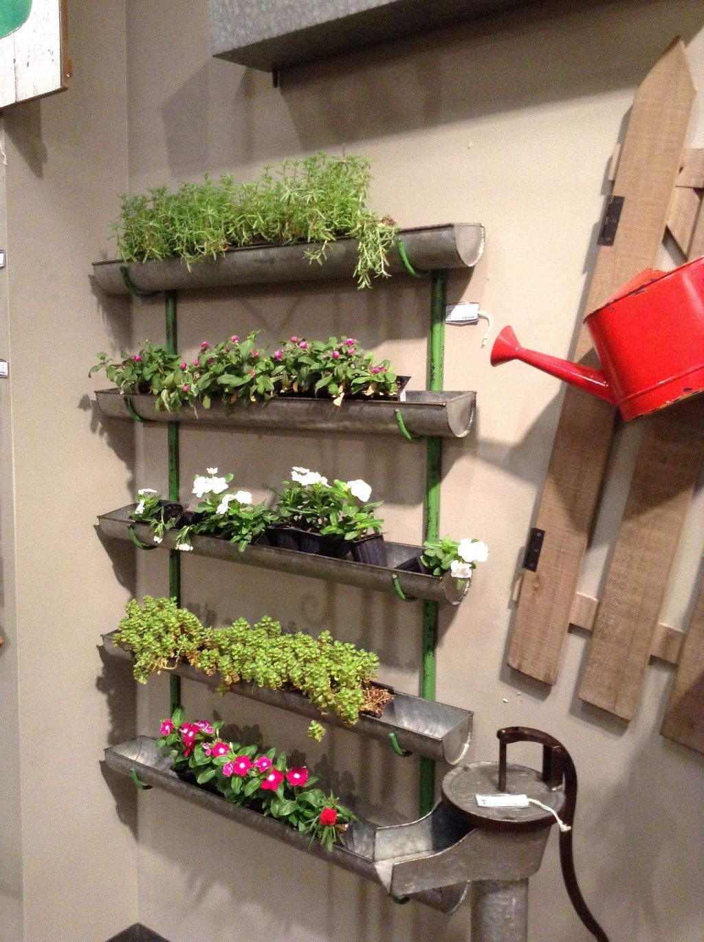Popular Vertical Garden Wall For Outdoors Decor 24