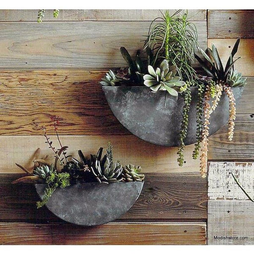 Popular Vertical Garden Wall For Outdoors Decor 26