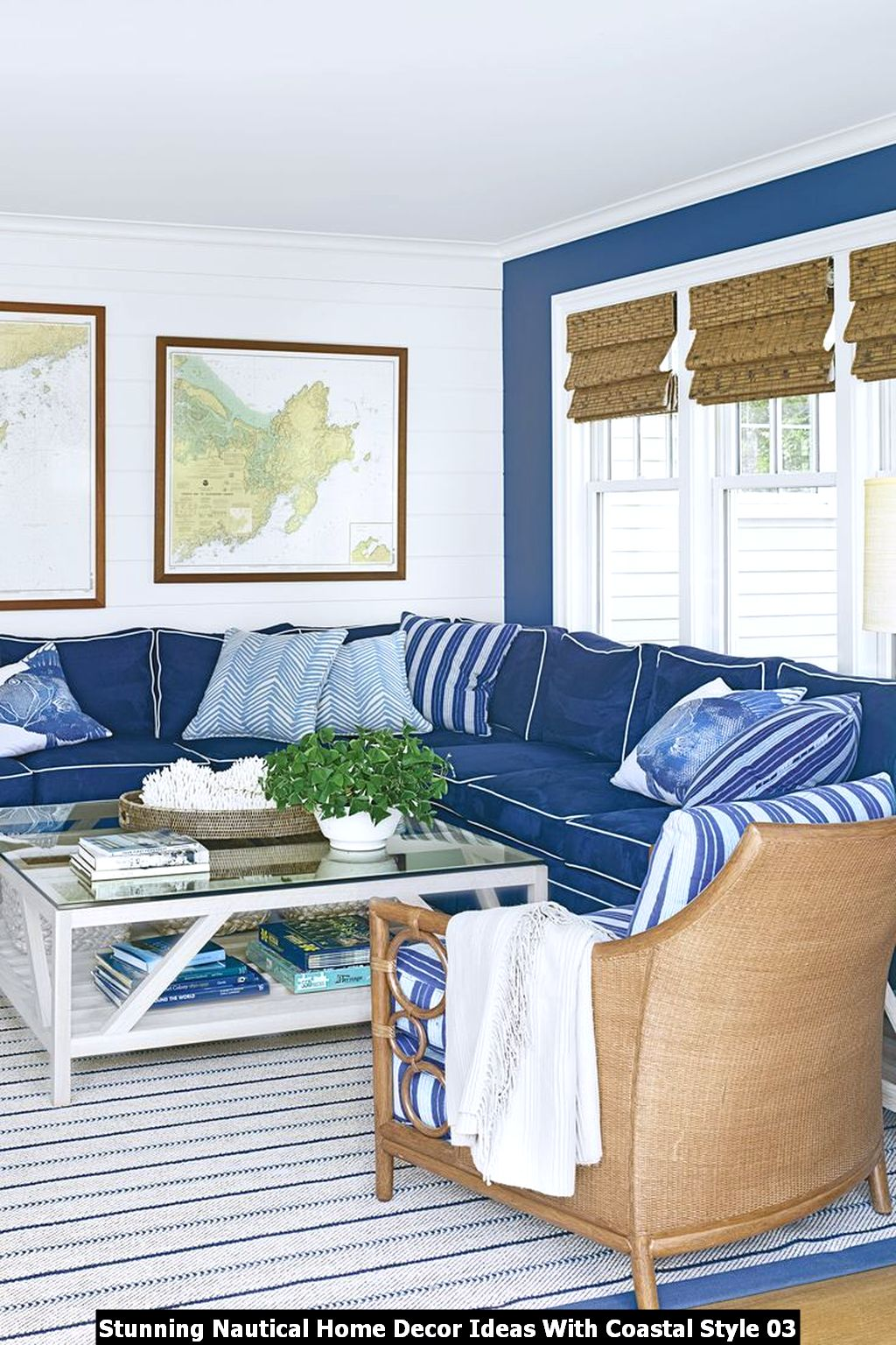 Stunning Nautical Home Decor Ideas With Coastal Style 03