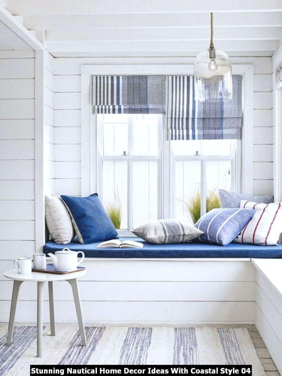 Stunning Nautical Home Decor Ideas With Coastal Style 04