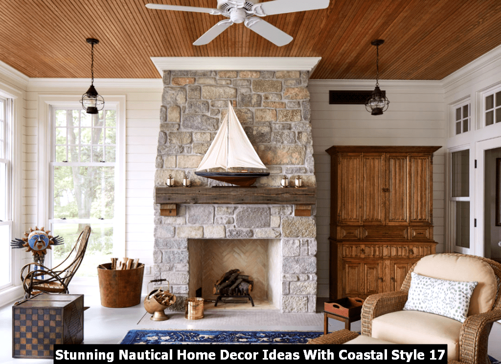 Stunning Nautical Home Decor Ideas With Coastal Style 17