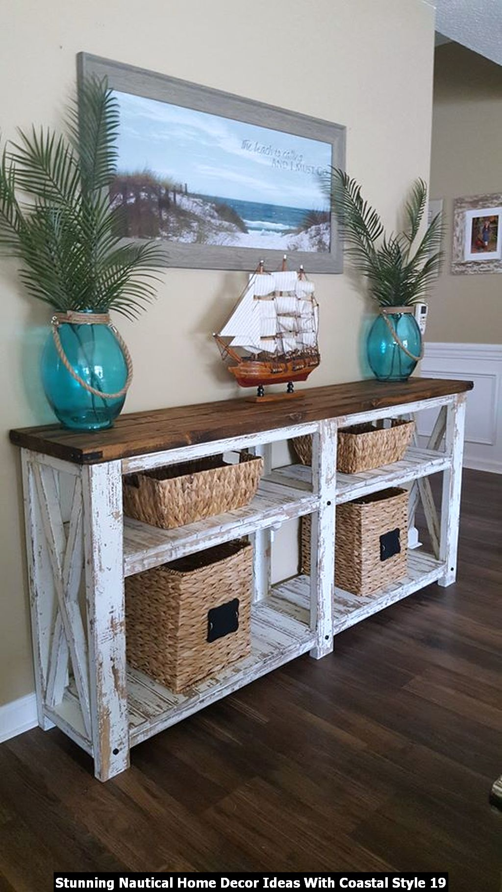 Stunning Nautical Home Decor Ideas With Coastal Style 19
