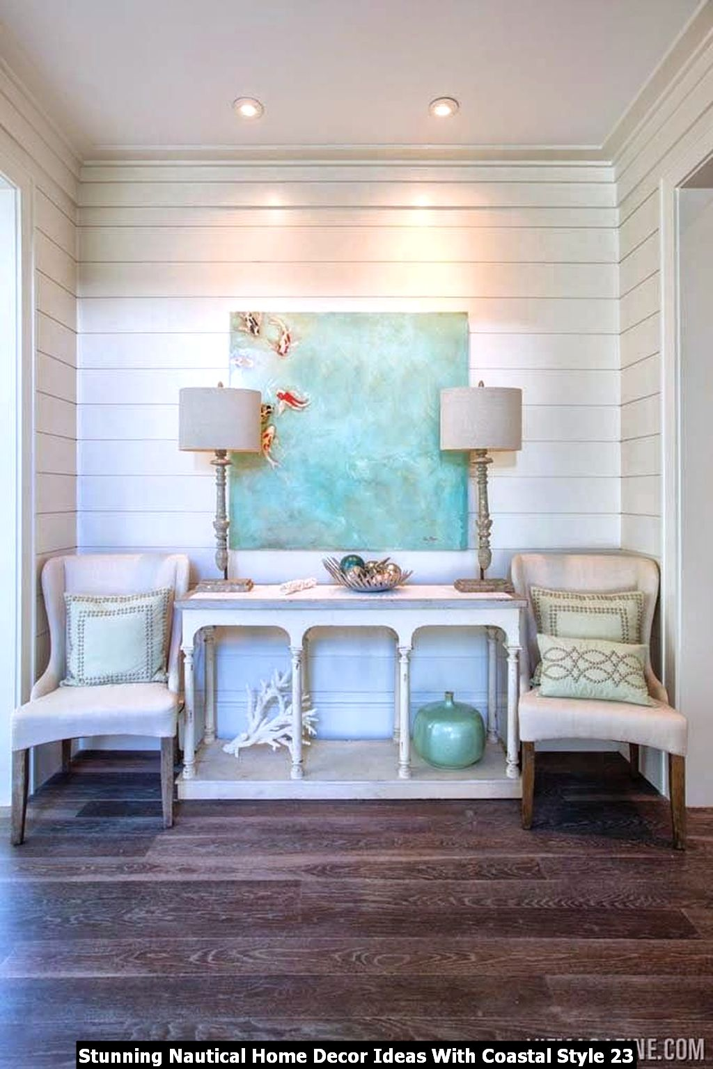 Stunning Nautical Home Decor Ideas With Coastal Style 23